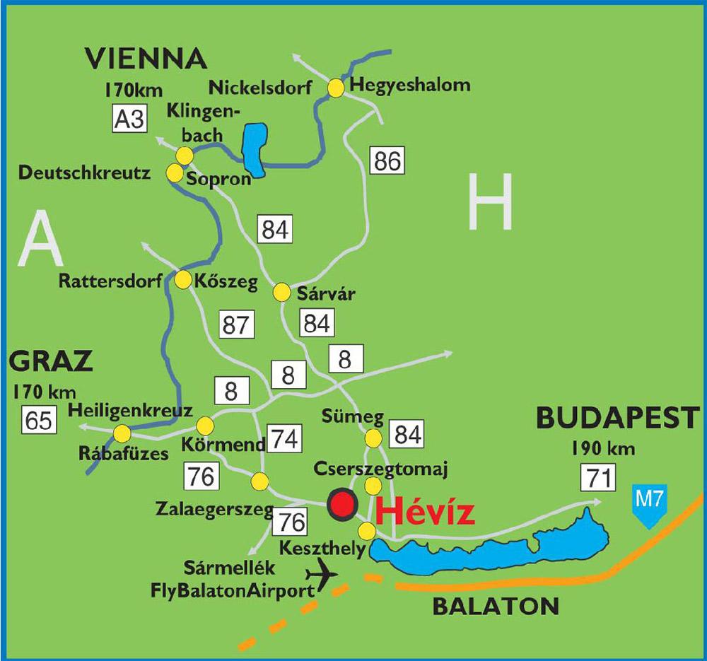 Travelling Information Heviz Dental Clinic